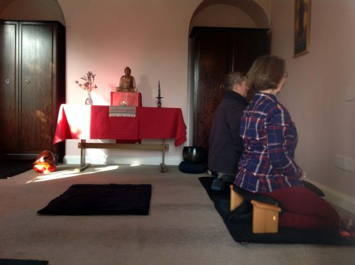 Zen Meditation at Arnold Zendo, Nottingham
